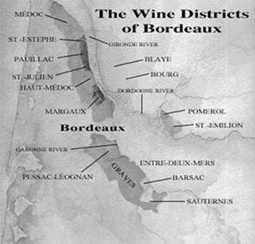 french wines region Bordeaux
