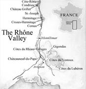 french wines region Rhone