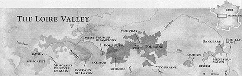 french wines region Loire
