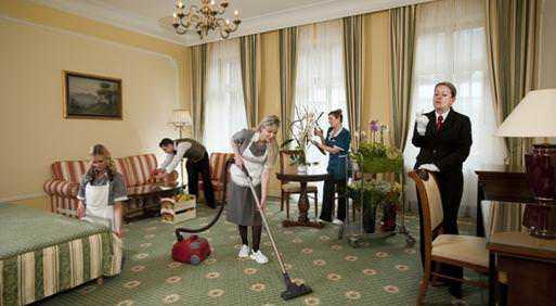 Housekeeping in Hotel 2