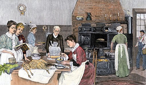 History of Cooking s a