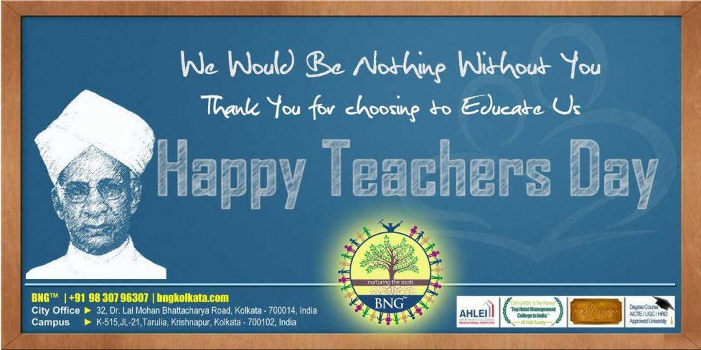 Happy Teachers Day -BNG