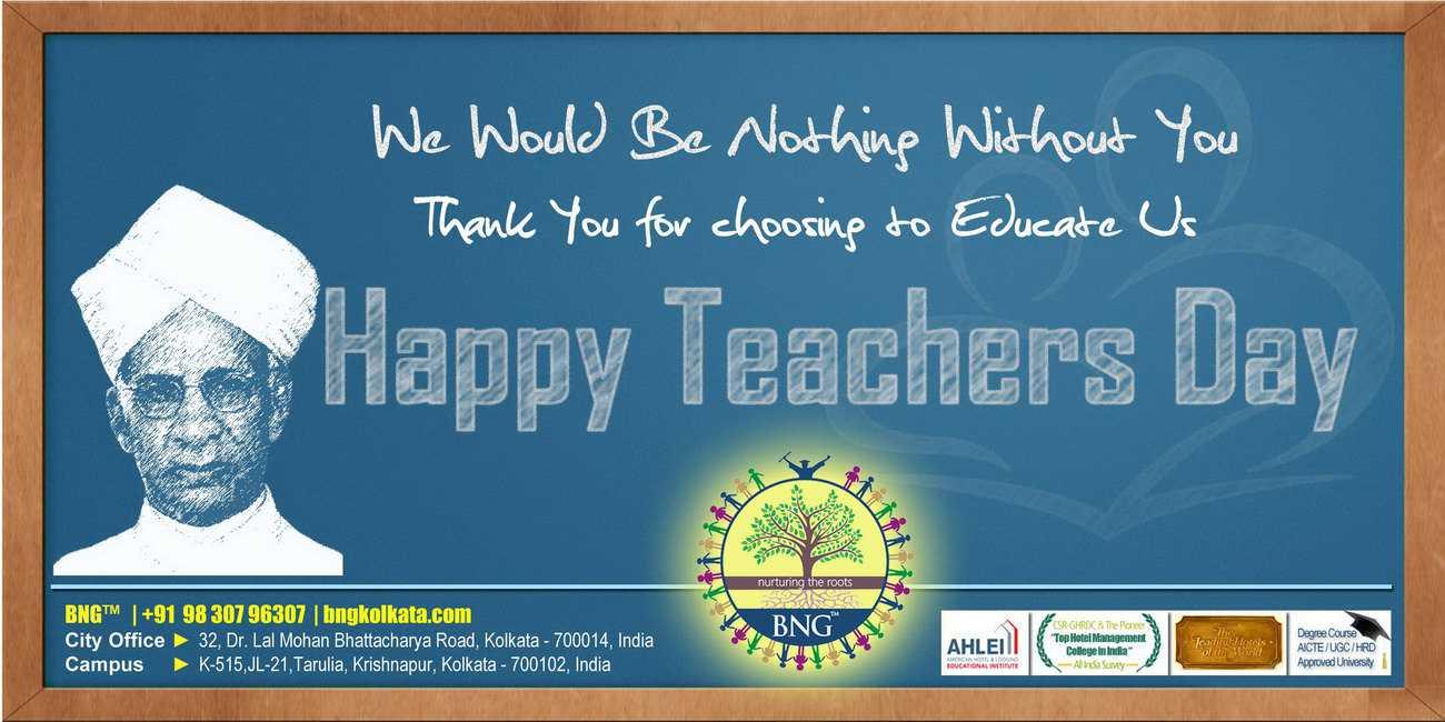 Happy Teachers Day » BNG Hotel Management Kolkata