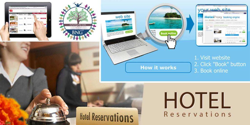 Hotel Reservation & Central Reservation System (CRS) BNG Hotel Management Kolkata