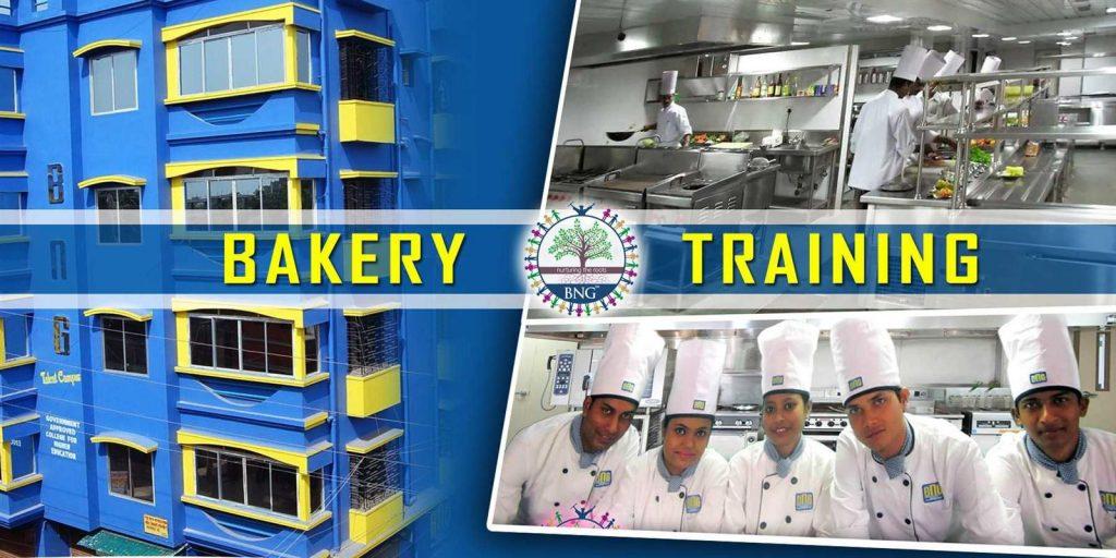 bakery training at BNG Hotel management kolkata