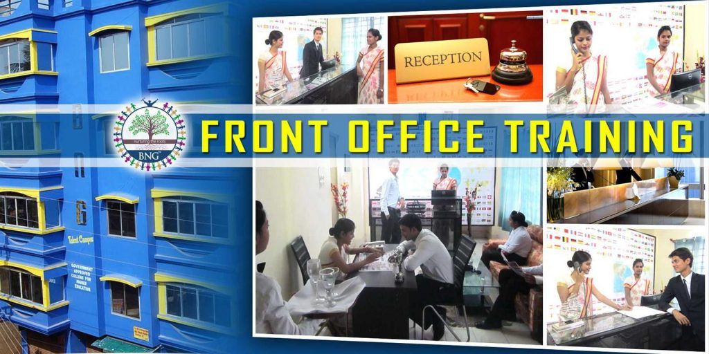 hotel front office training at BNG Hotel management kolkata
