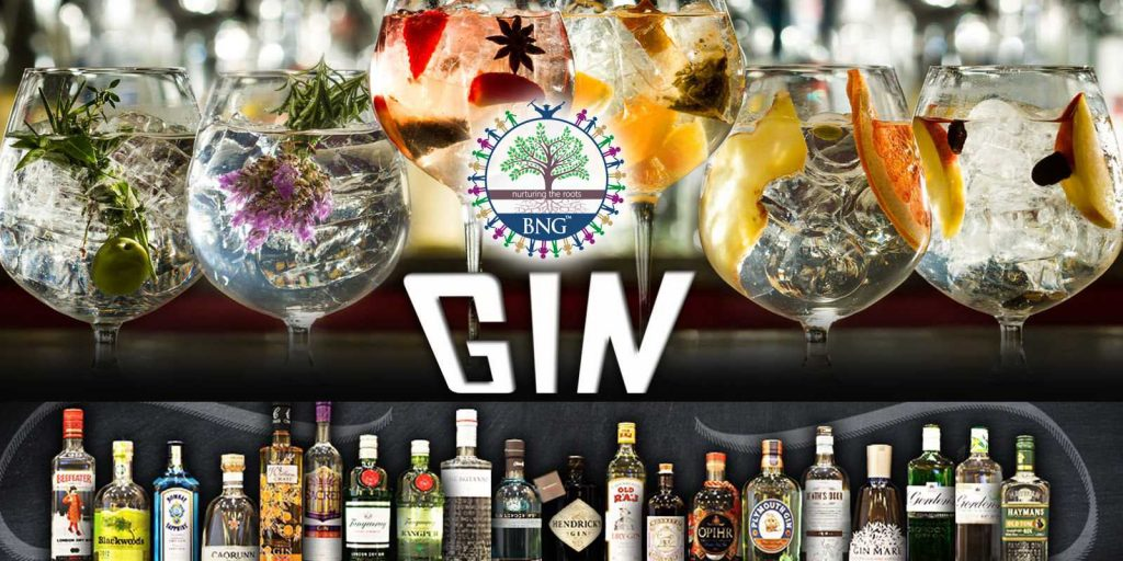 Gin Ingredients, types and brand names - BNG Hotel Management Kolkata