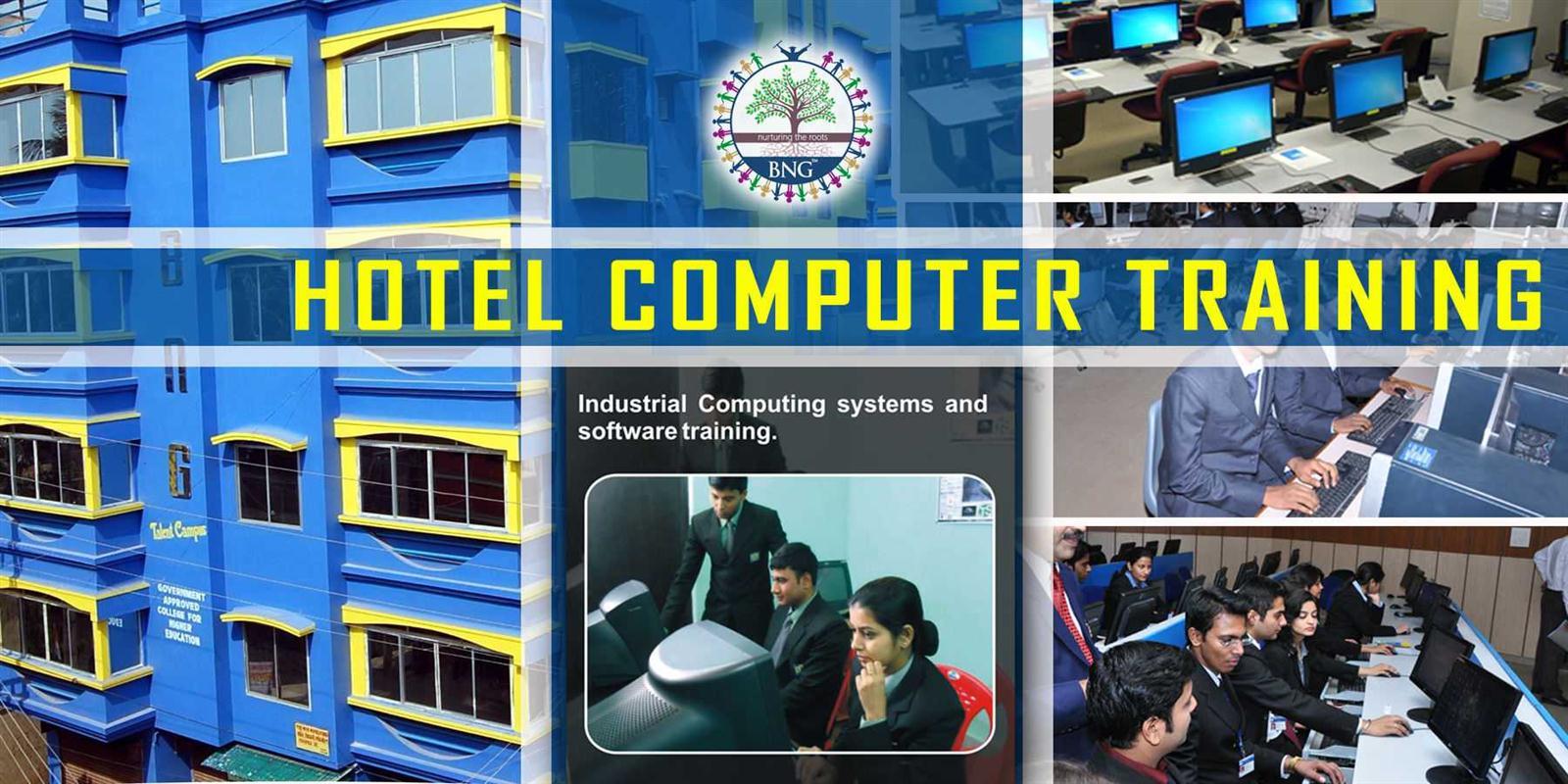 hotel computer training at BNG Hotel management kolkata