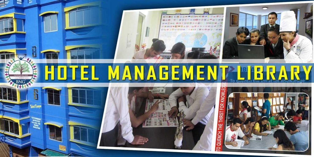 hotel management library at BNG Hotel management kolkata