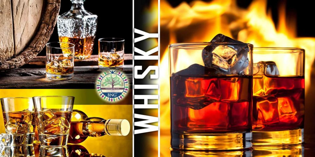 Whisky - Ingredients, types and brand names by BNG Hotel Management Kolkata
