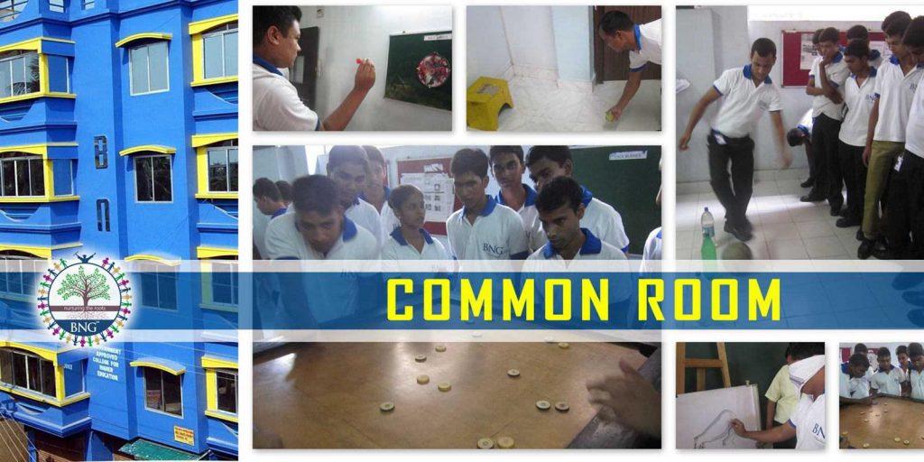 student common room of BNG Hotel management kolkata