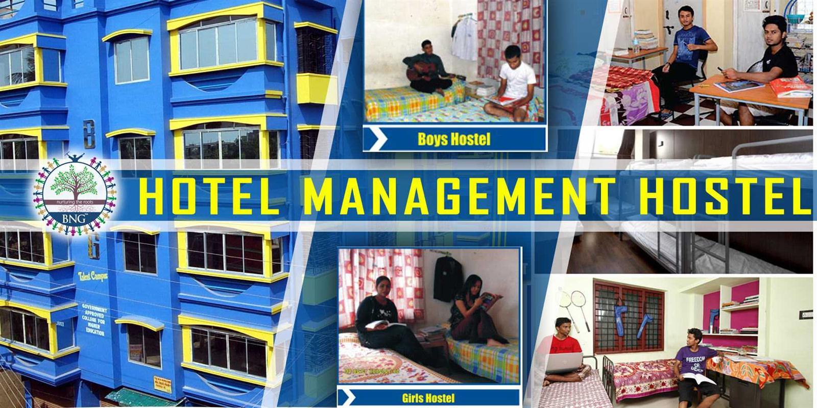 hotel management hostel of BNG Hotel management kolkata