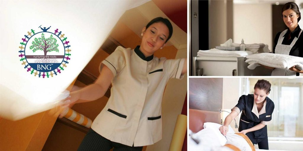 housekeeping duties and responsibilities bng kolkata hotel management