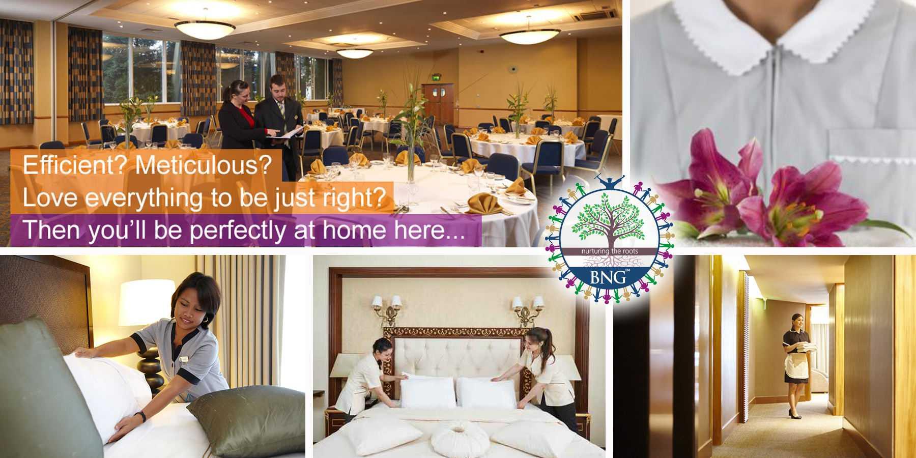 Housekeeping in Hotel » BNG Hotel Management Kolkata