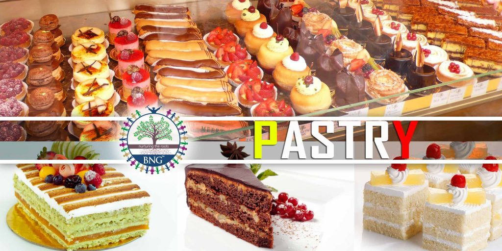 pastry type recipe and cake
