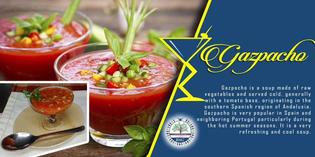 Gazpacho Recipe by BNG Hotel Management Kolkata
