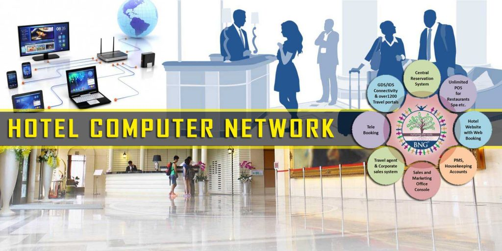 learn all about hotel computer network at BNG Hotel Management Kolkata