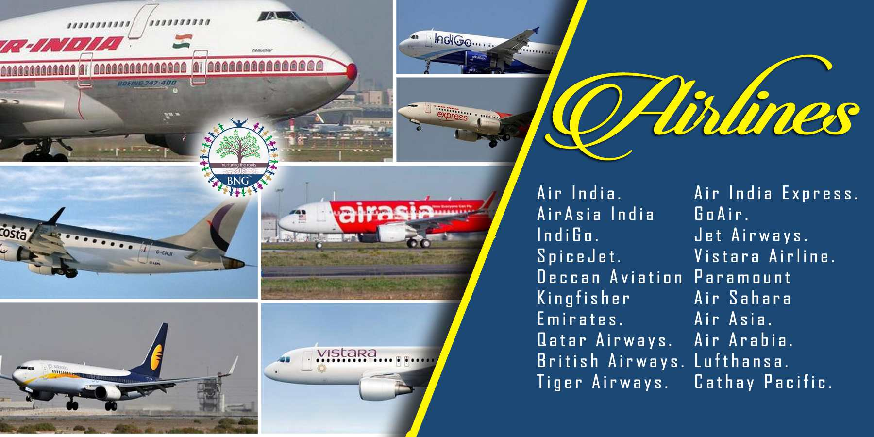 Airlines Jobs by BNG Hotel Management kolkata companies