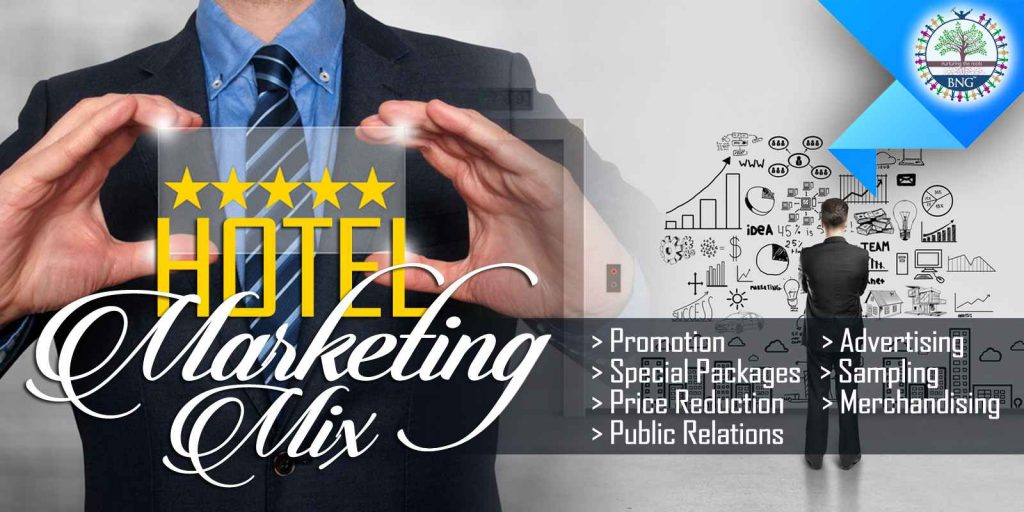 hotel marketing mix by bng hotel Management Kolkata