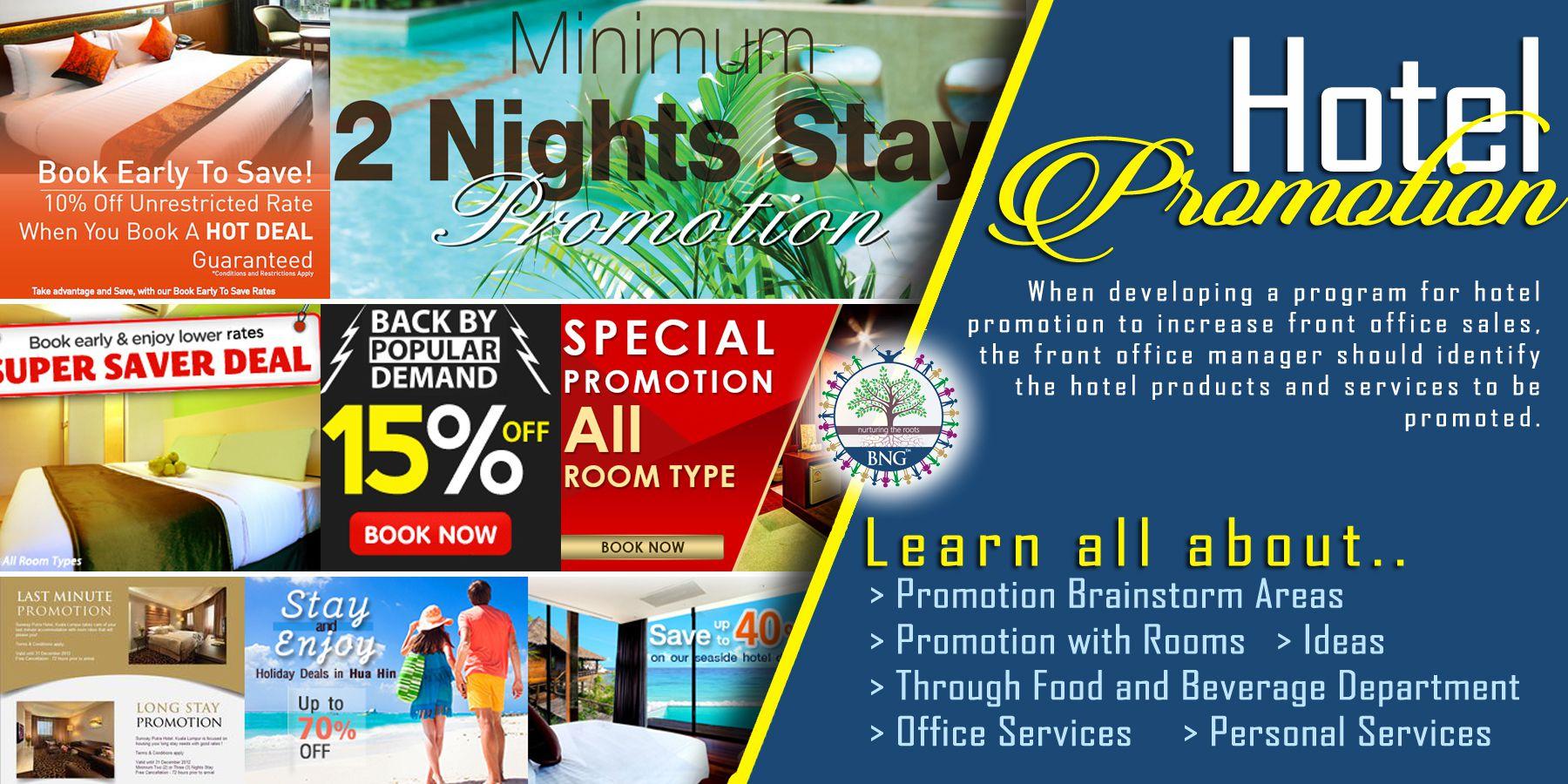 Hotel Promotion Bng Hotel Management Kolkata