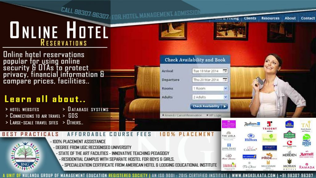 Online hotel reservations by BNG Hotel Management Kolkata
