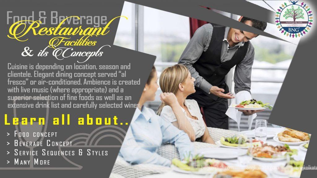 Restaurant Facilities and Concepts by BNG Hotel Management Kolkata