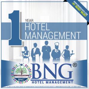 Hotel Management 1 Year Program