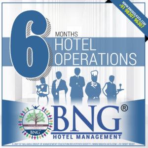 Hotel Operations 6 Months Program