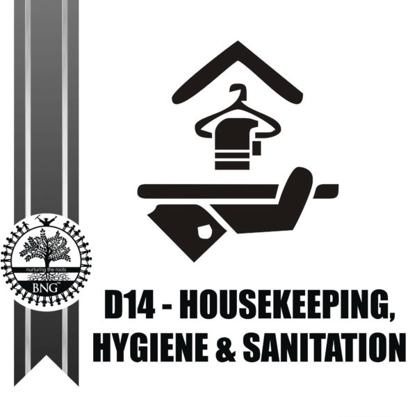 Housekeeping, Hygiene and Sanitation