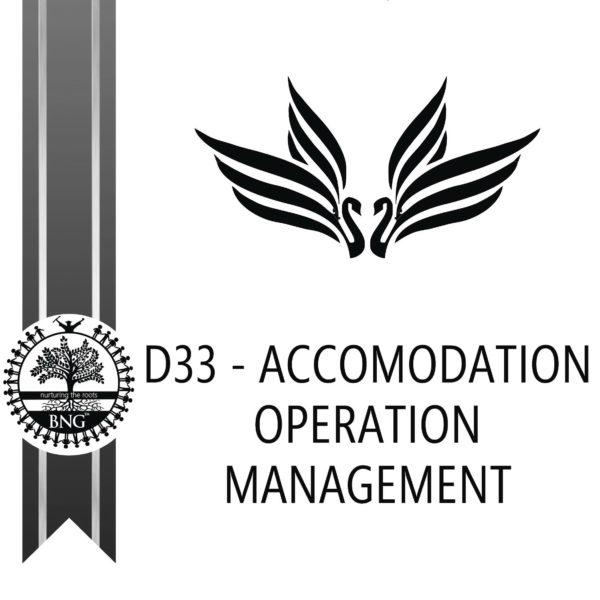 Accomodation Operation Management