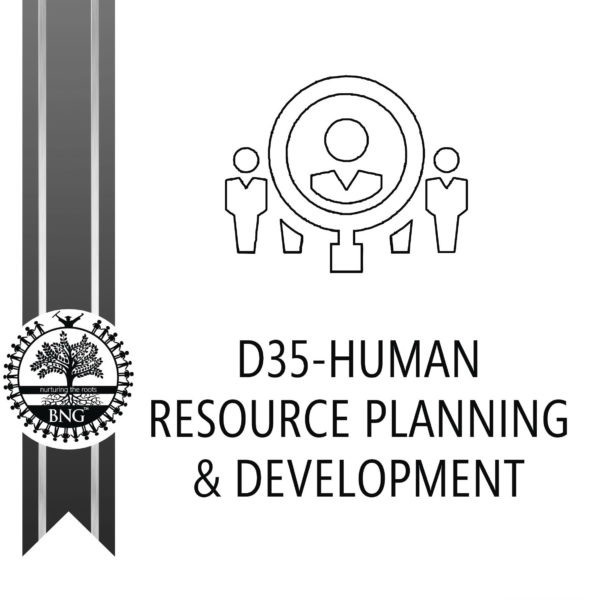 Human Resource Planning and Development